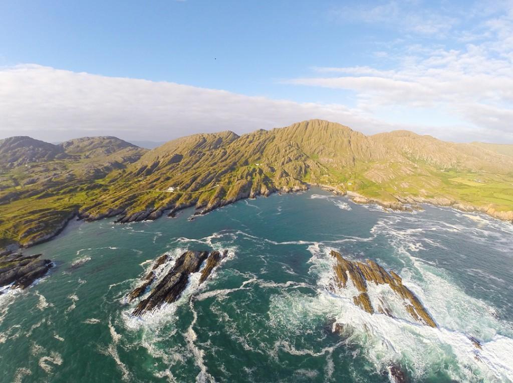 Wild Atlantic Way Aerial Shot - Beara