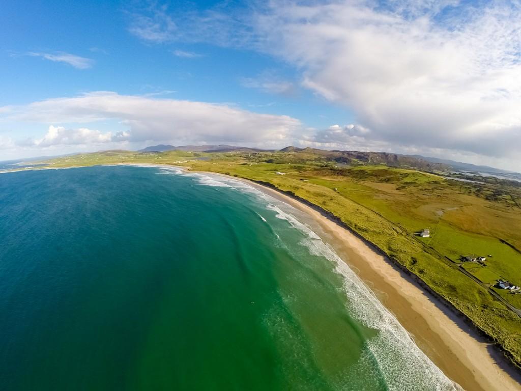 Wild Atlantic Way Aerial Shot - Ballyhiernan