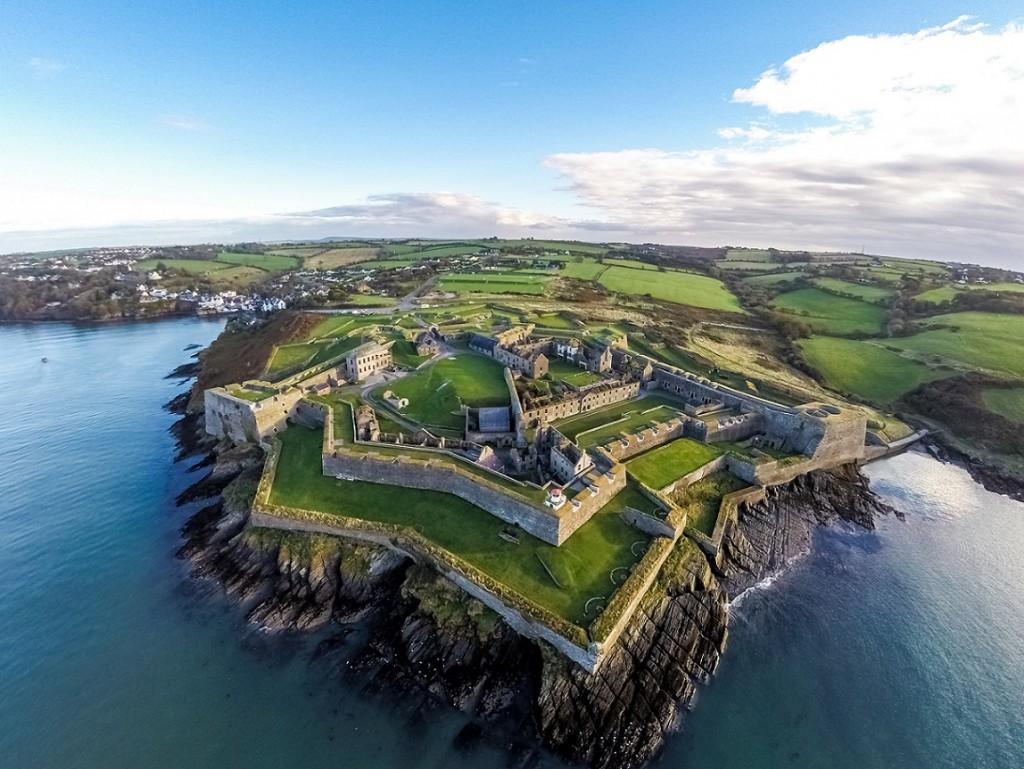 Wild Atlantic Way Aerial Shot -  Charles Fort