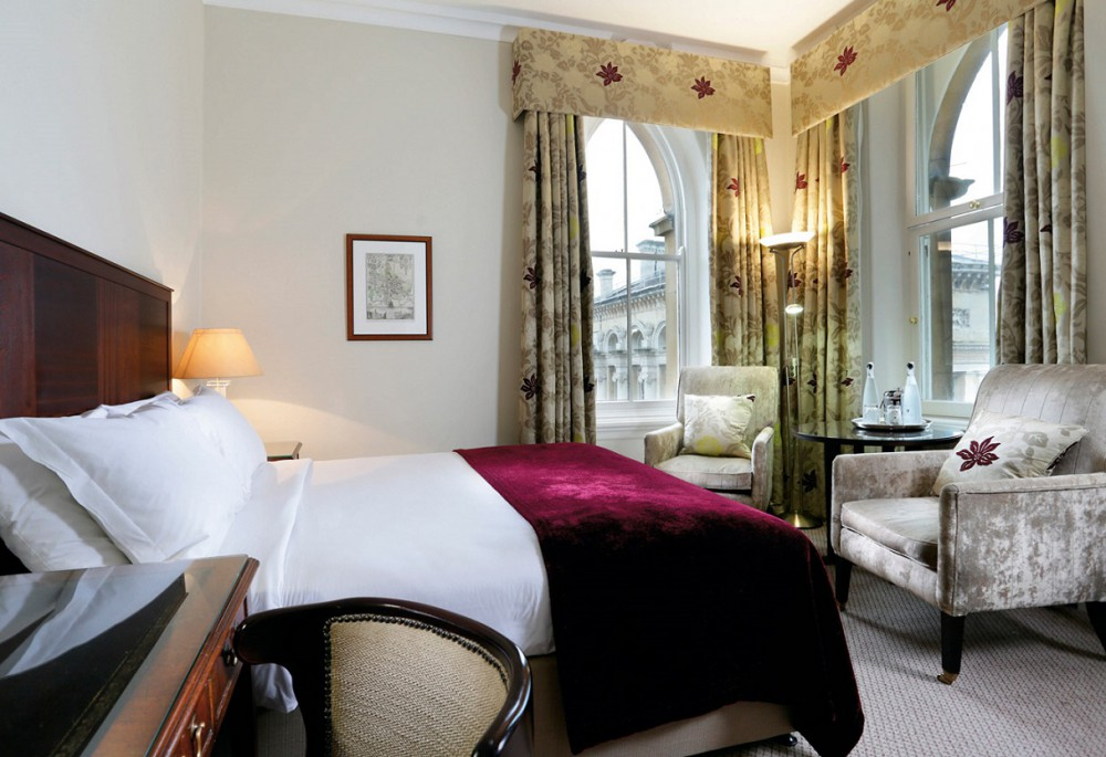 Stay at the Macdonald Randolph Oxford for the height of luxury.