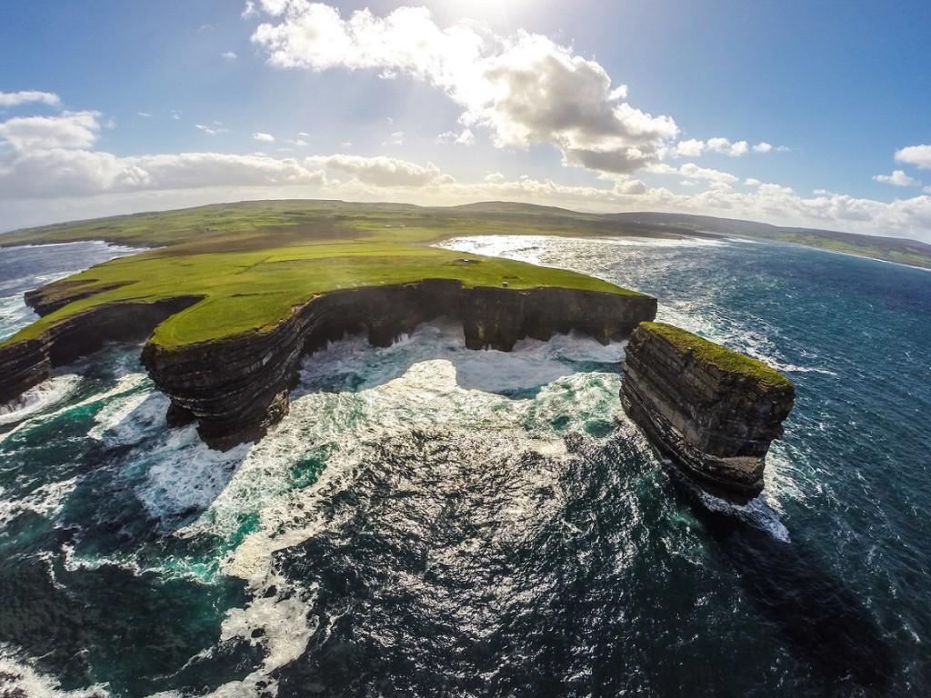 Wild Atlantic Way Aerial - Downpatrick