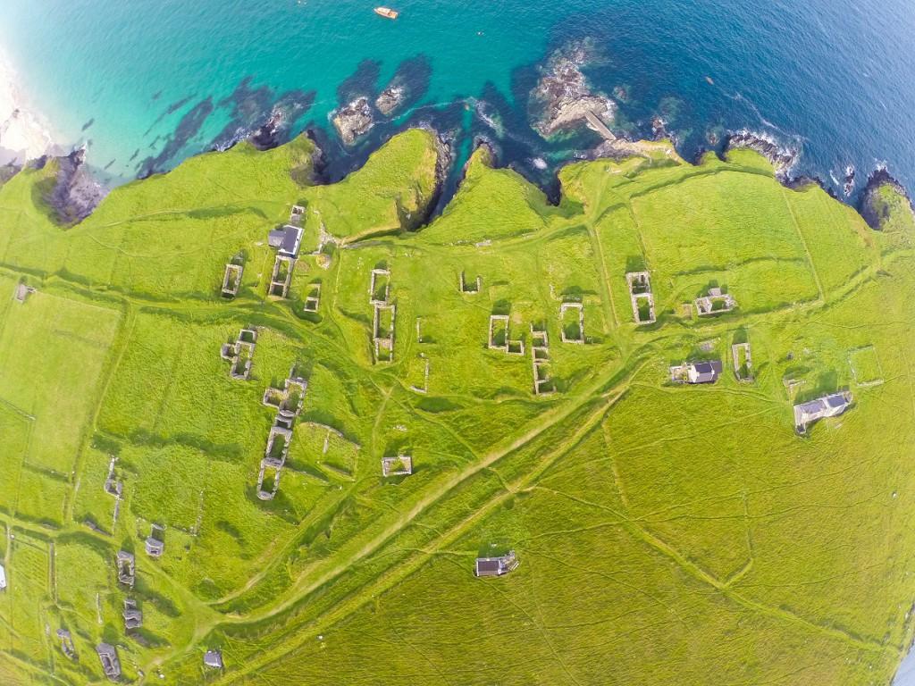 Wild Atlantic Way Aerial Shot- Blasket Island