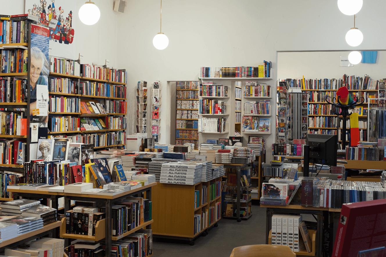 LGBT guide to Vienna - Löwenherz bookshop