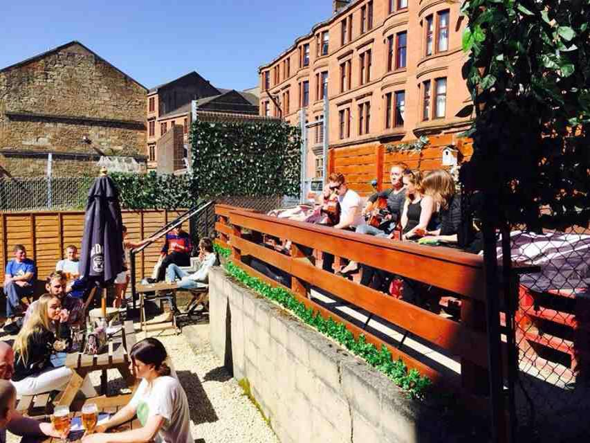Go to the Record Factory for their spacious and eclectic beer gardens.