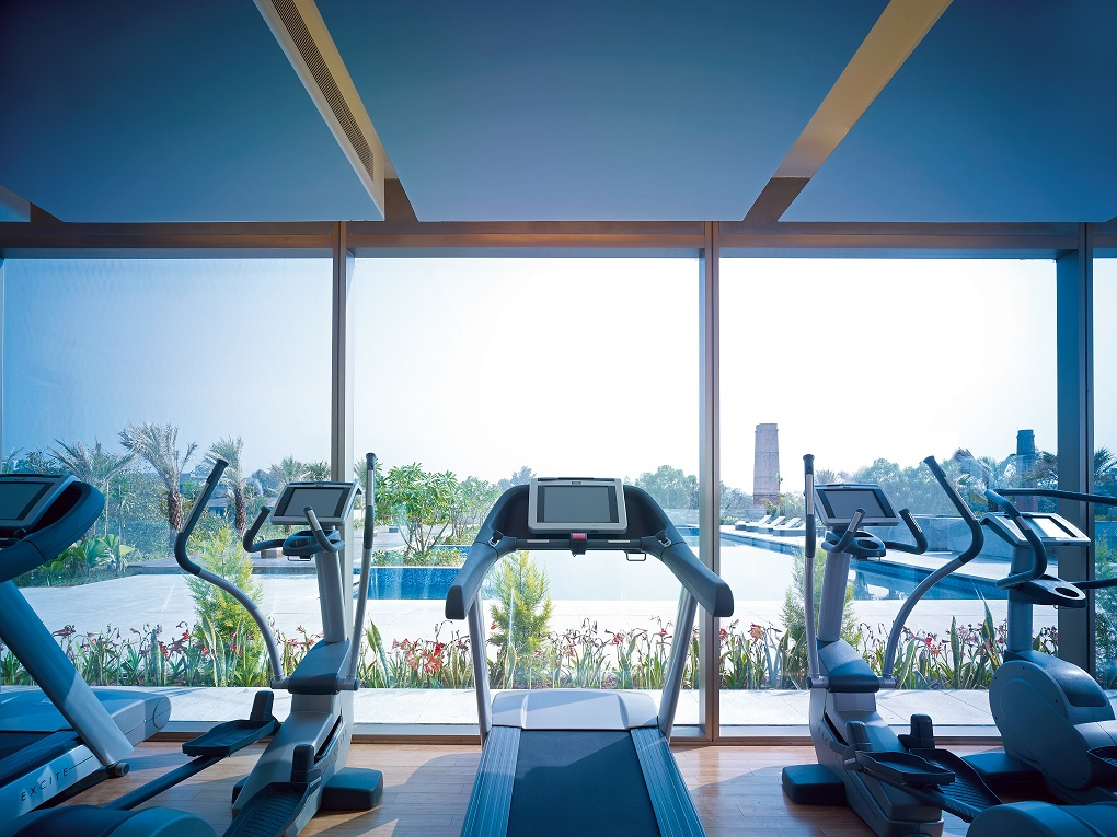 Hotels with gyms India