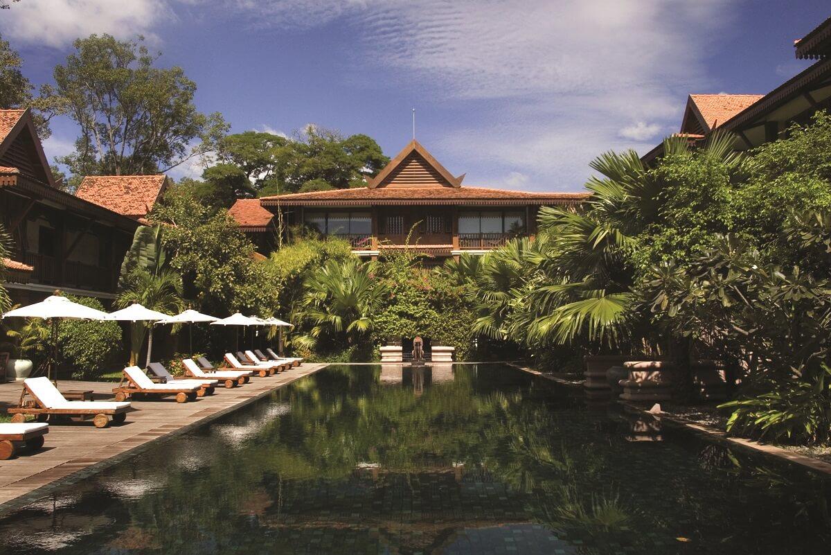 hoteles en la selva -Belmond La Residence a'Angkor