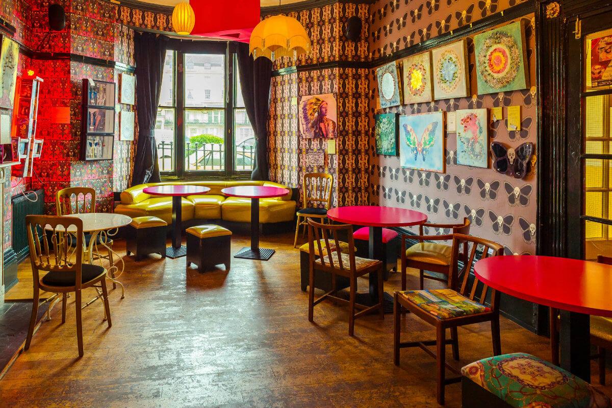 Hotel Pelirocco bar in Brighton