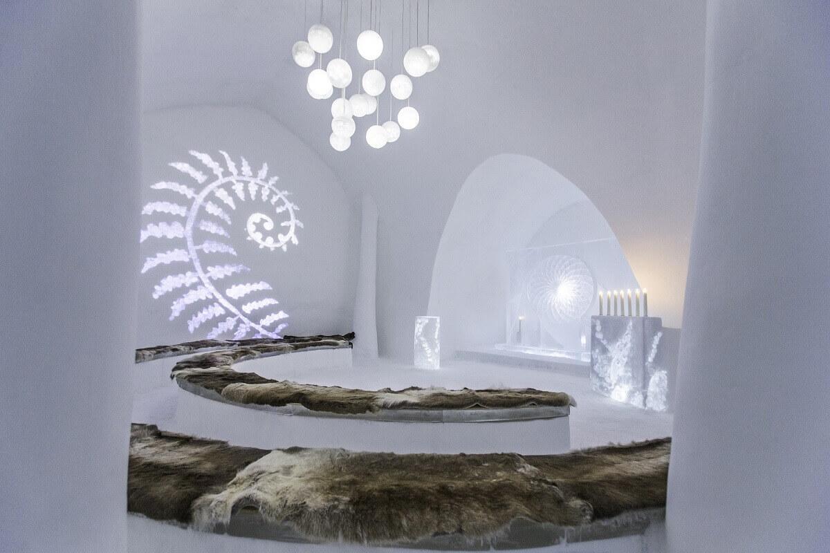 Ice hotel, Sweden