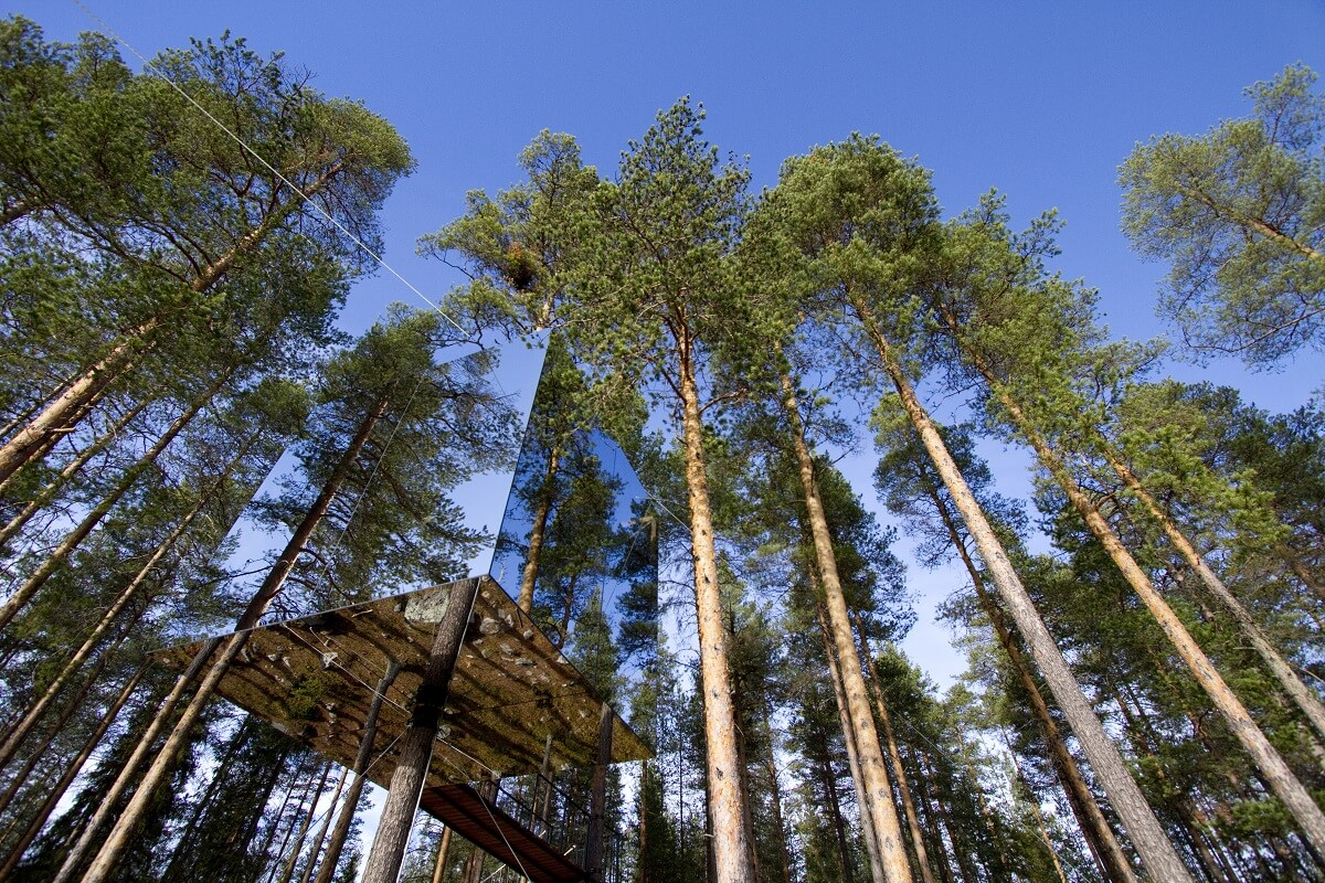 Design hotels Sweden: Treehouse