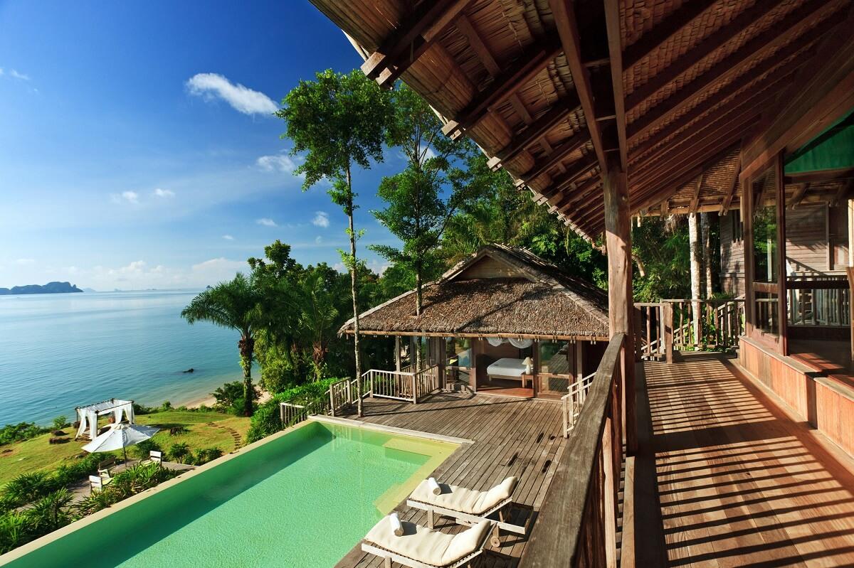 hoteles en la selva -Six Senses Hotel, Thailand