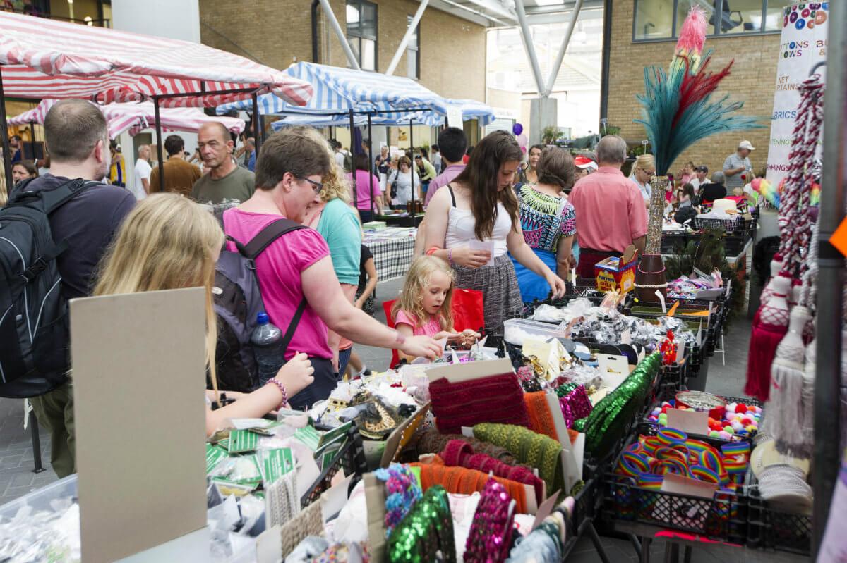 The Open Market in Brighton