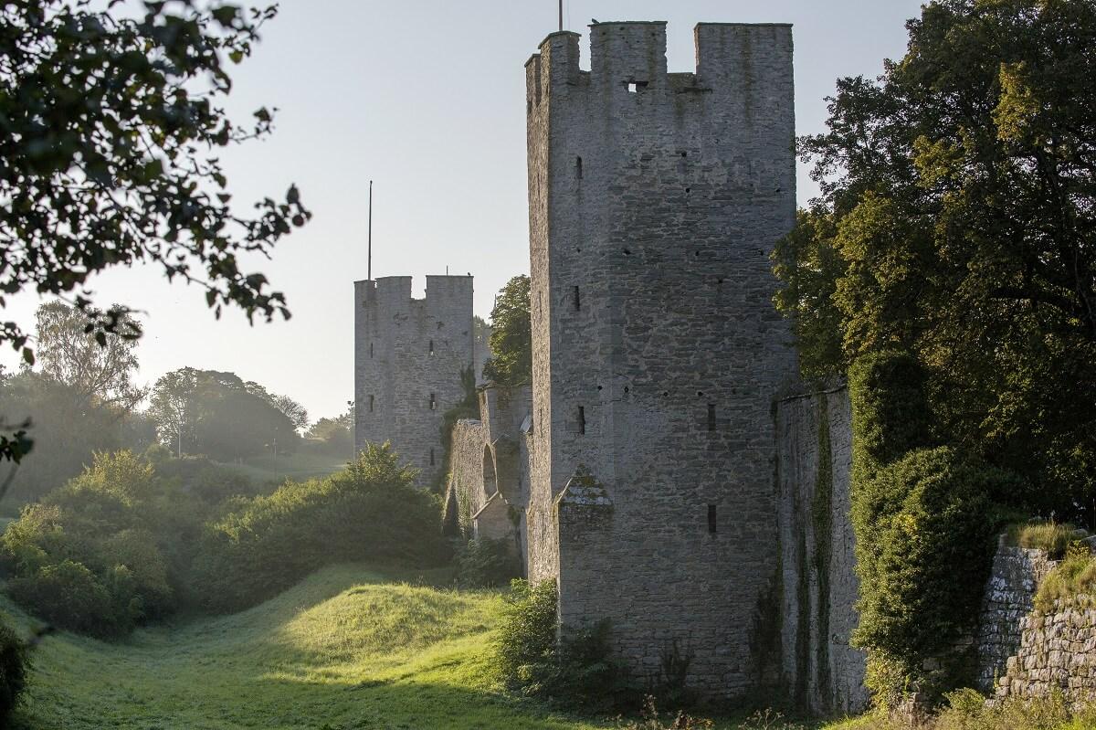 Visby city walls, Gotland