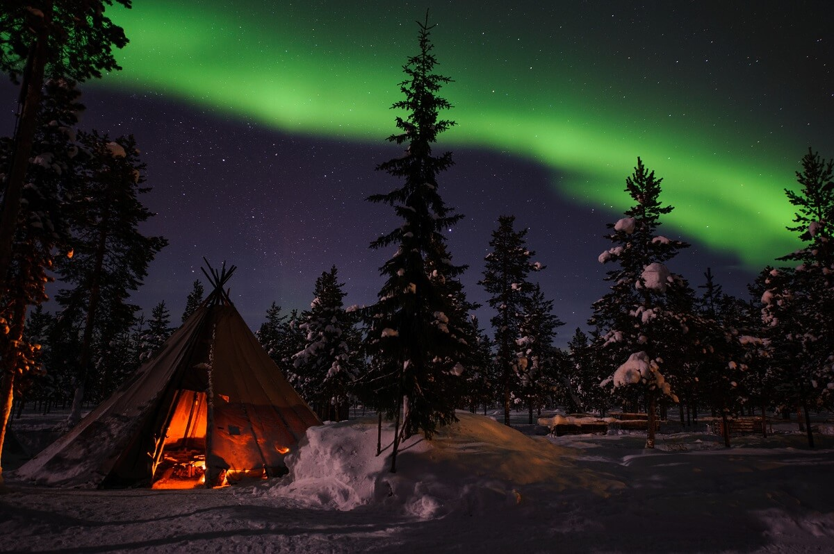 Reasons to love Sweden: Northern Lights in Lappland