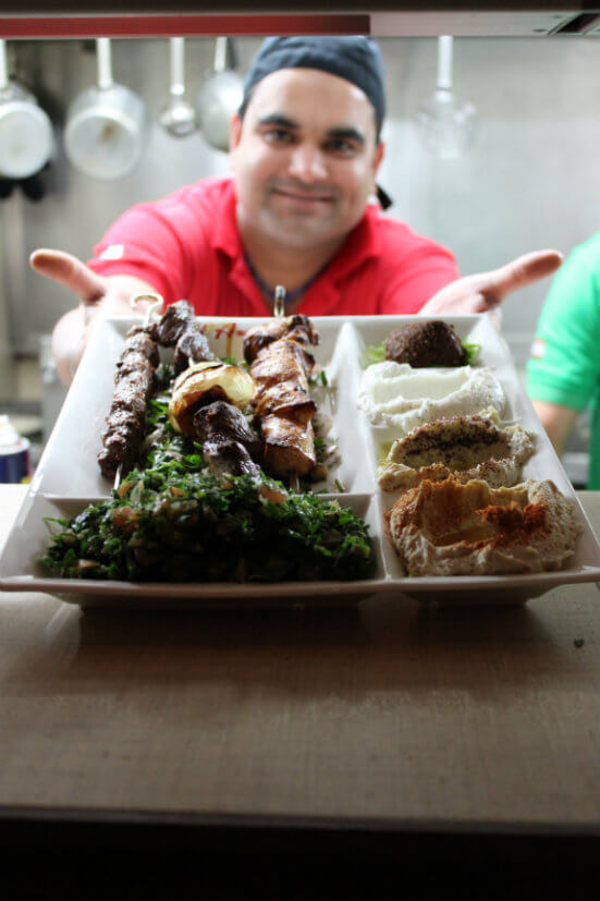 Cheap eats in Sydney: go to Al Aseel for delicious Lebanese cuisine.