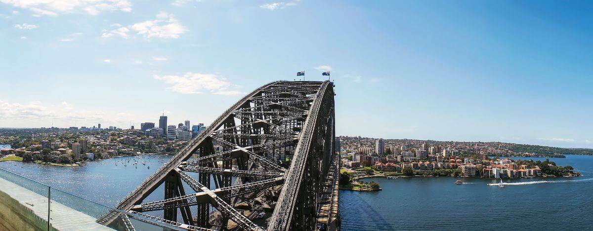 Budget alternative to the Sydney Harbour Bridge climb - the Sydney Harbour Bridge Pylon Lookout