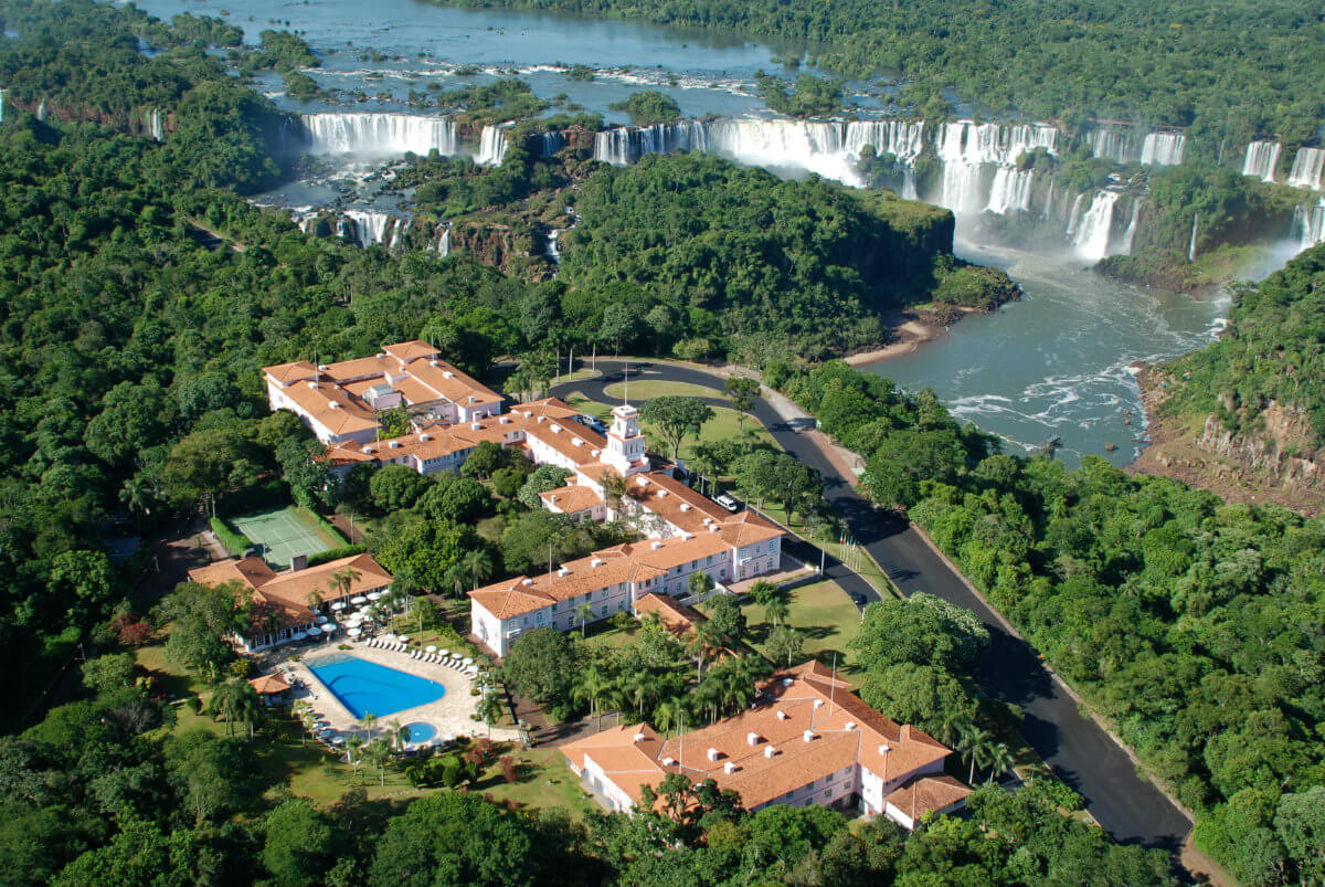 Tennis hotel - the Belmond Hotel das Cataratas