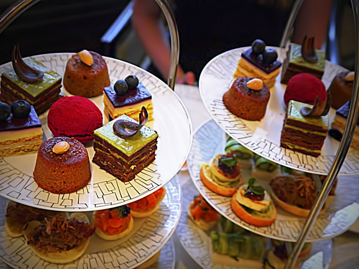 London afternoon tea - Intercontinental Park Lane