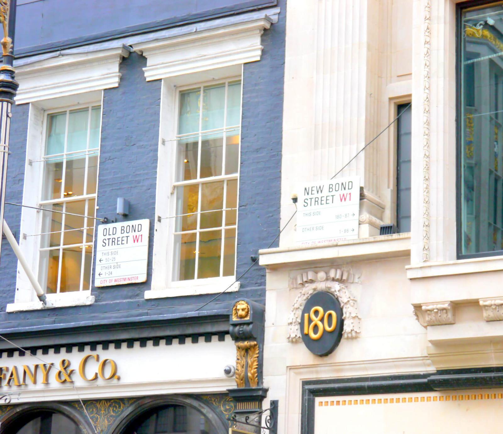 Old Bond Street - New Bond Street