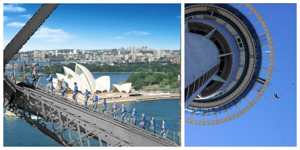 Australia vs. New Zealand: landmarks