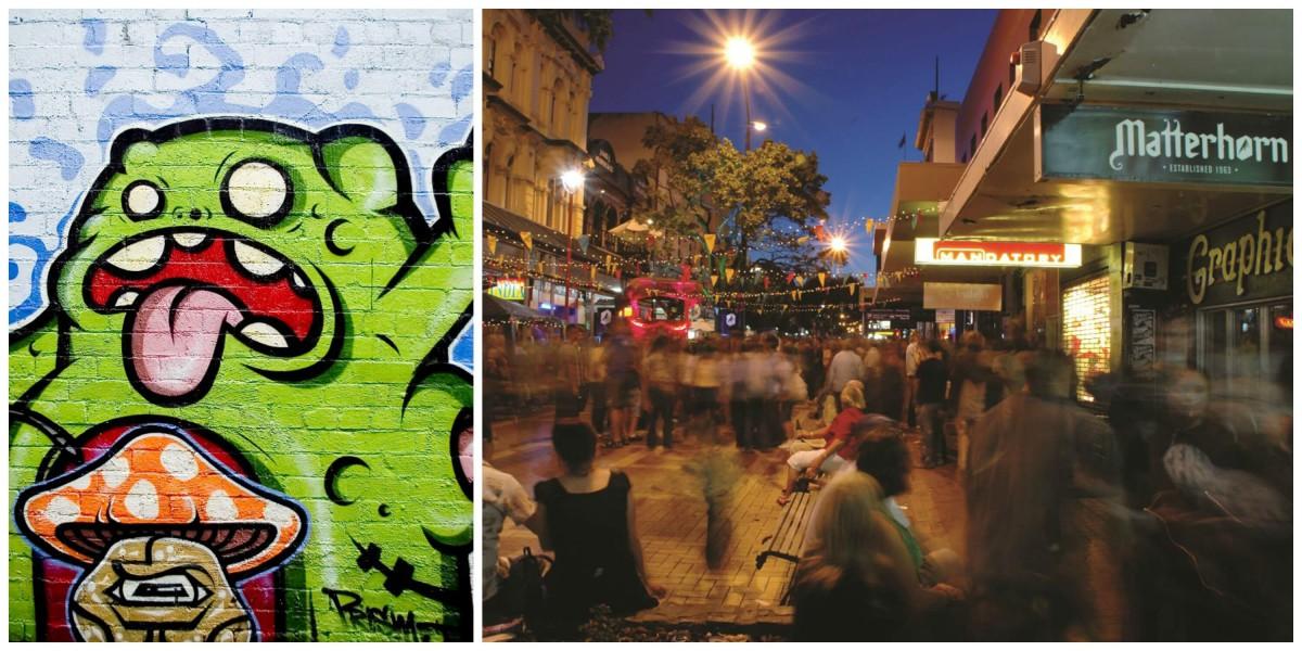 Australia vs. New Zealand: Melbourne Wellington hipster