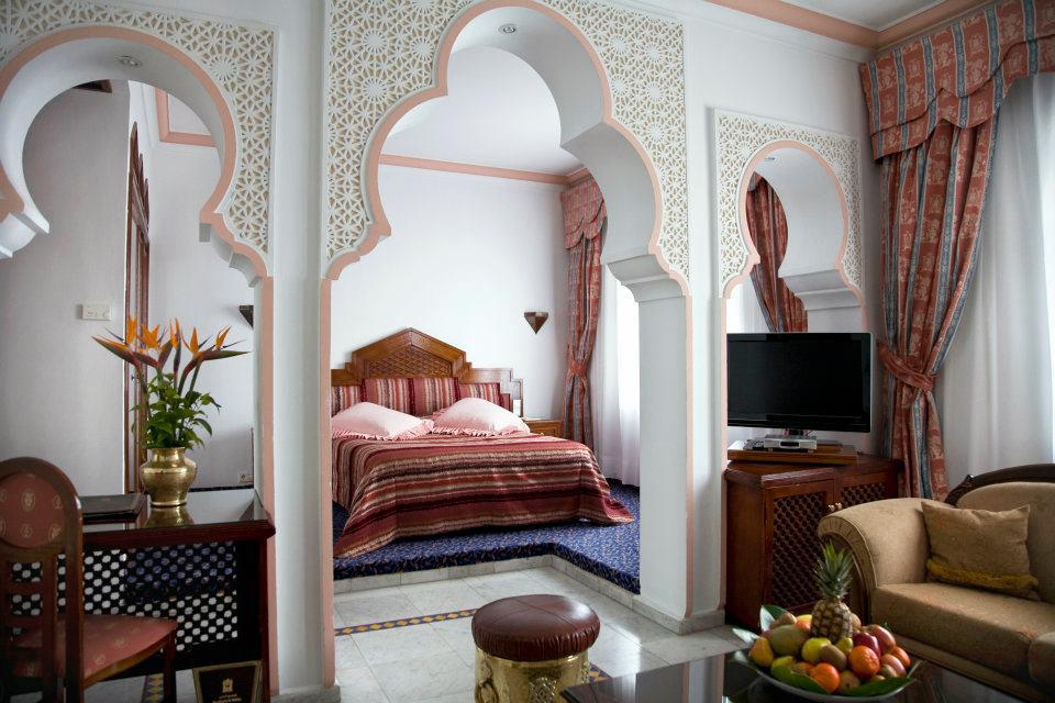 Morocco luxury hotels: El Minzah