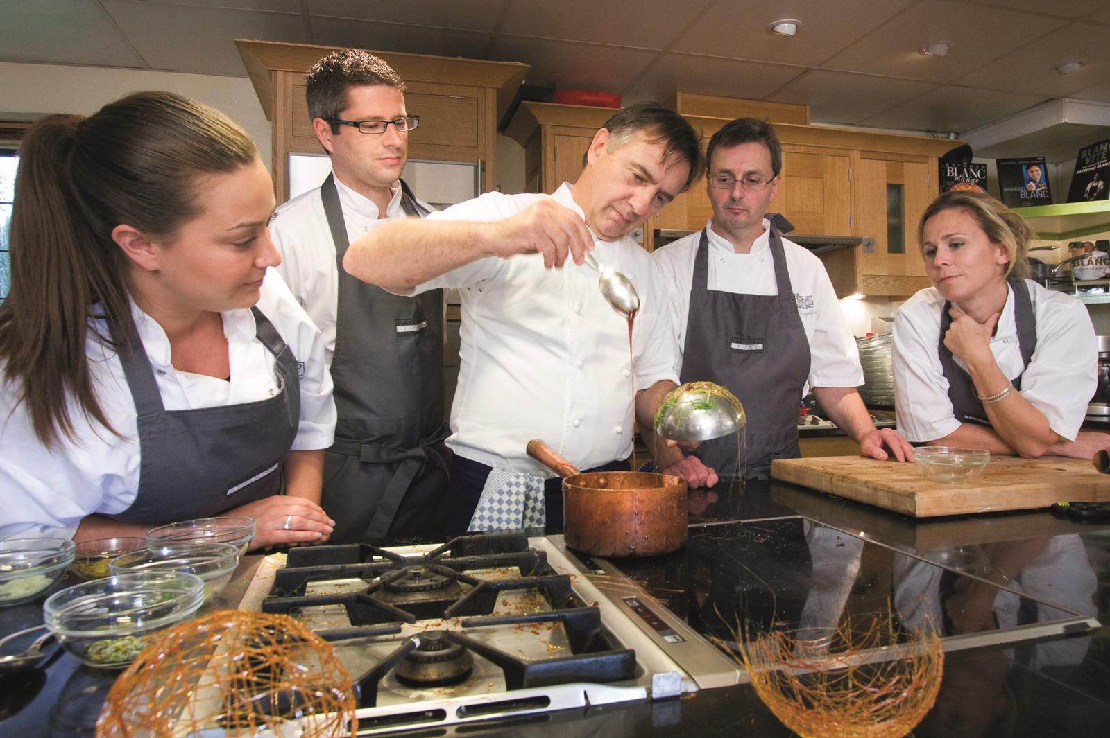 Baking Course with Raymond Blanc at Belmond Manoir Aux Quat'Saisons