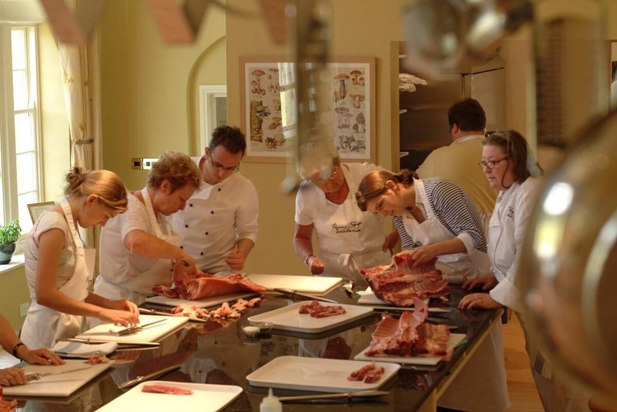 Cookery courses: Swinton Park