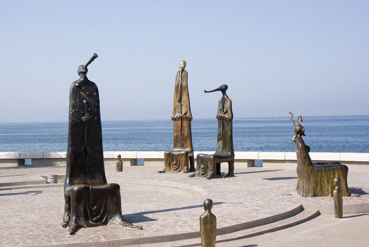Escultura Puerto Vallarta