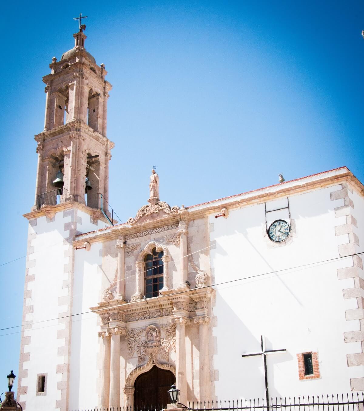 Parroquia de Santo Santiago Mapimí