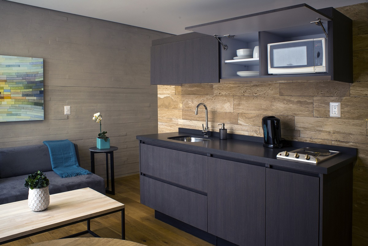 Cuarto con cocineta, Hotel AR 218