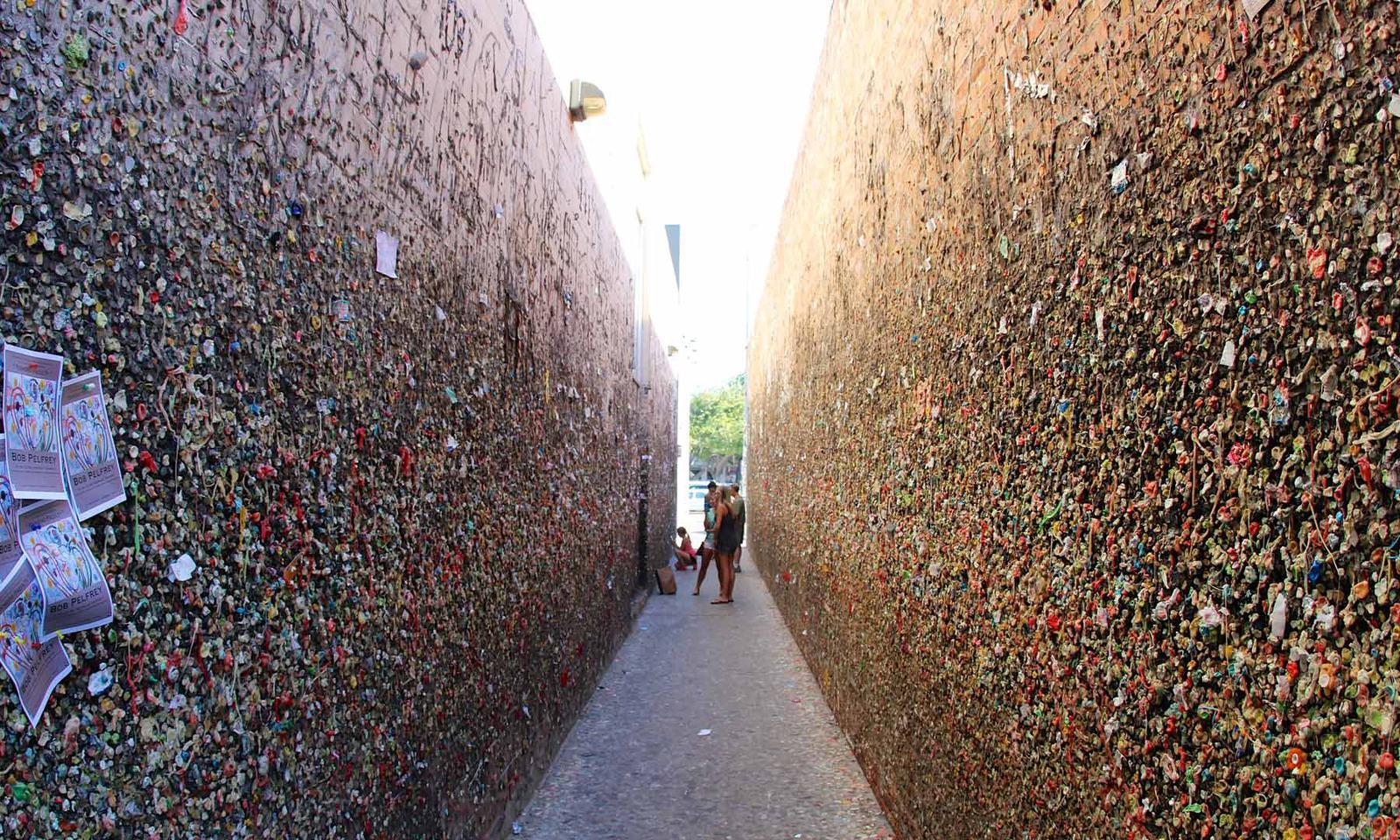 San Luis Obispo Bubble Gum Alley
