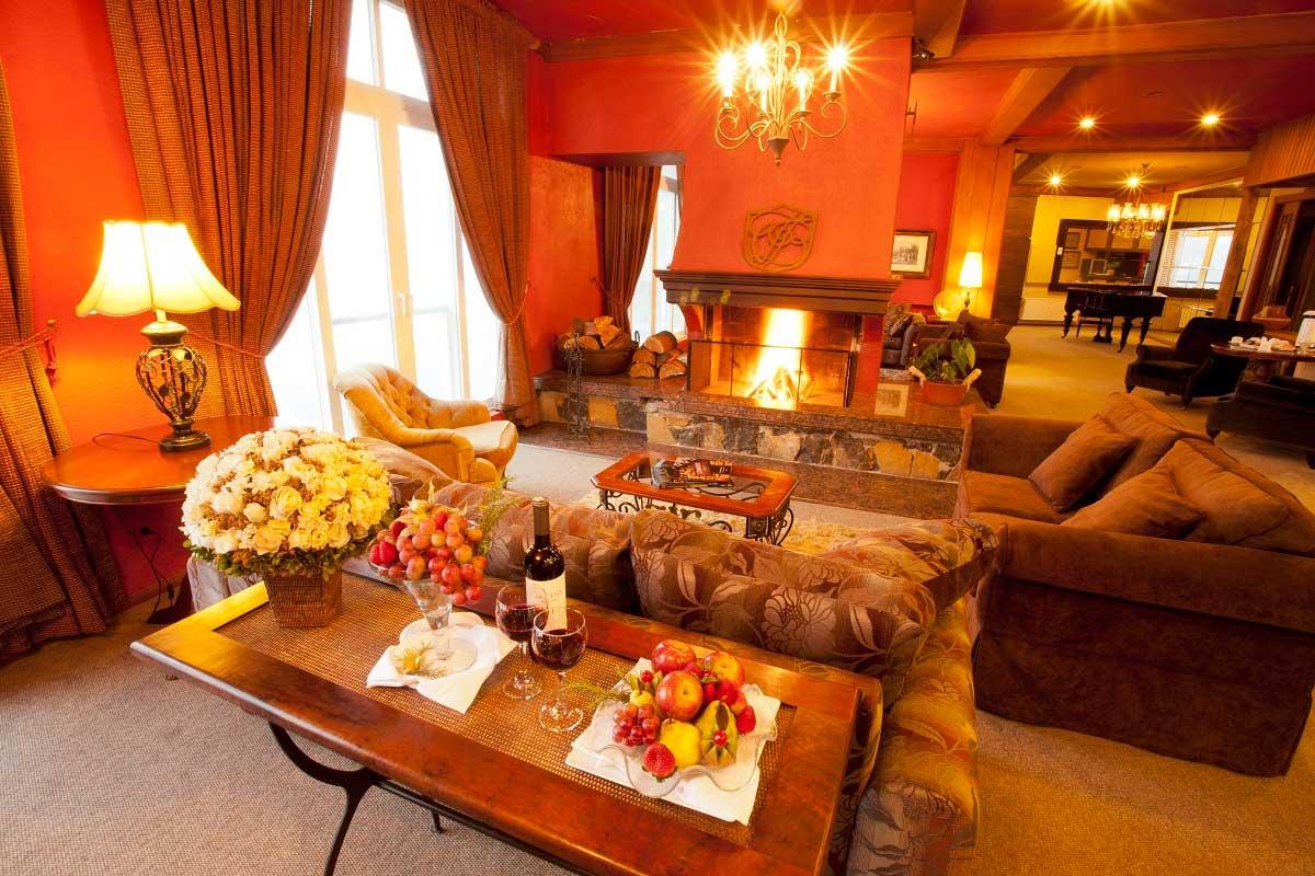 Sala de Estar - Hotel Villa Bella - Gramado