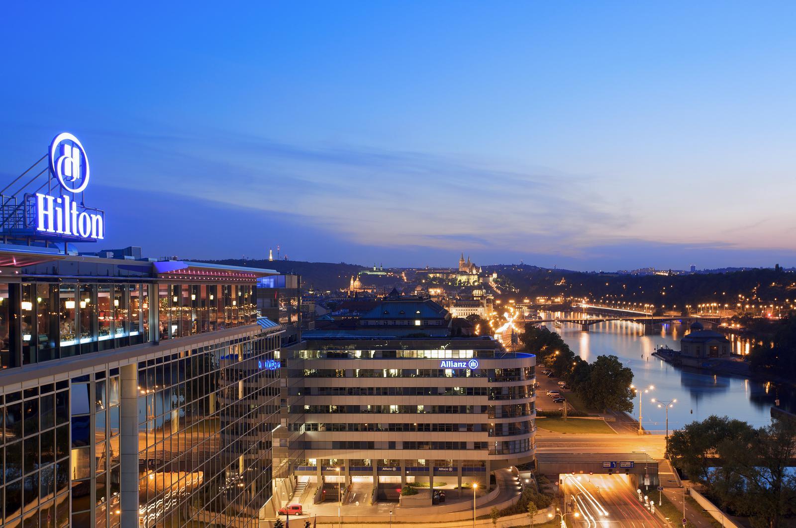 Hilton Prague, em Praga hotéis para jogar poker