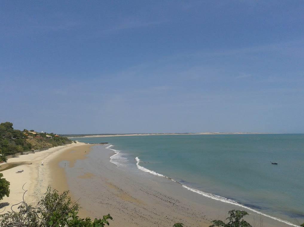 Praia em Paracuru, Ceará, a mais barata para se hospedar no Brasil