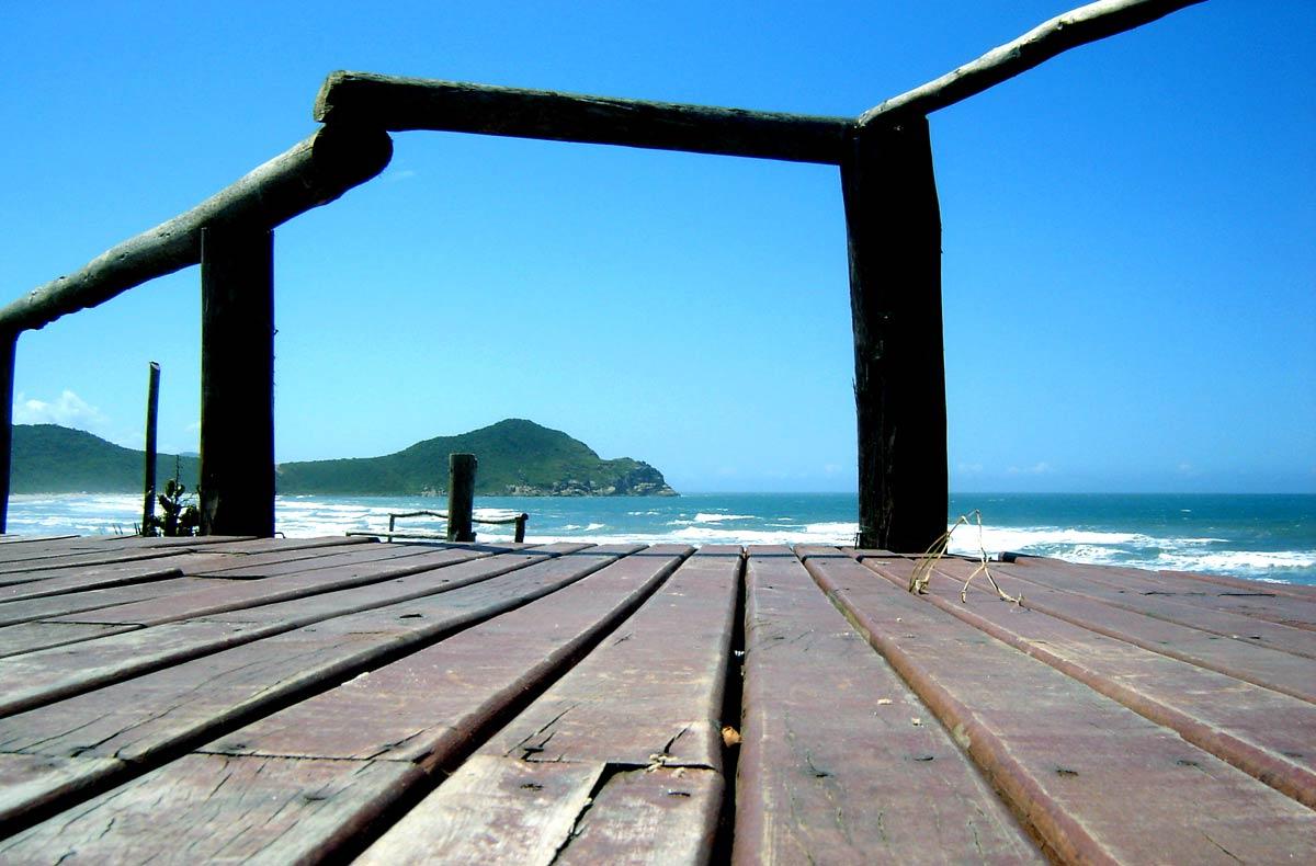 Praia do Rosa, em Imbituba, Santa Catarina