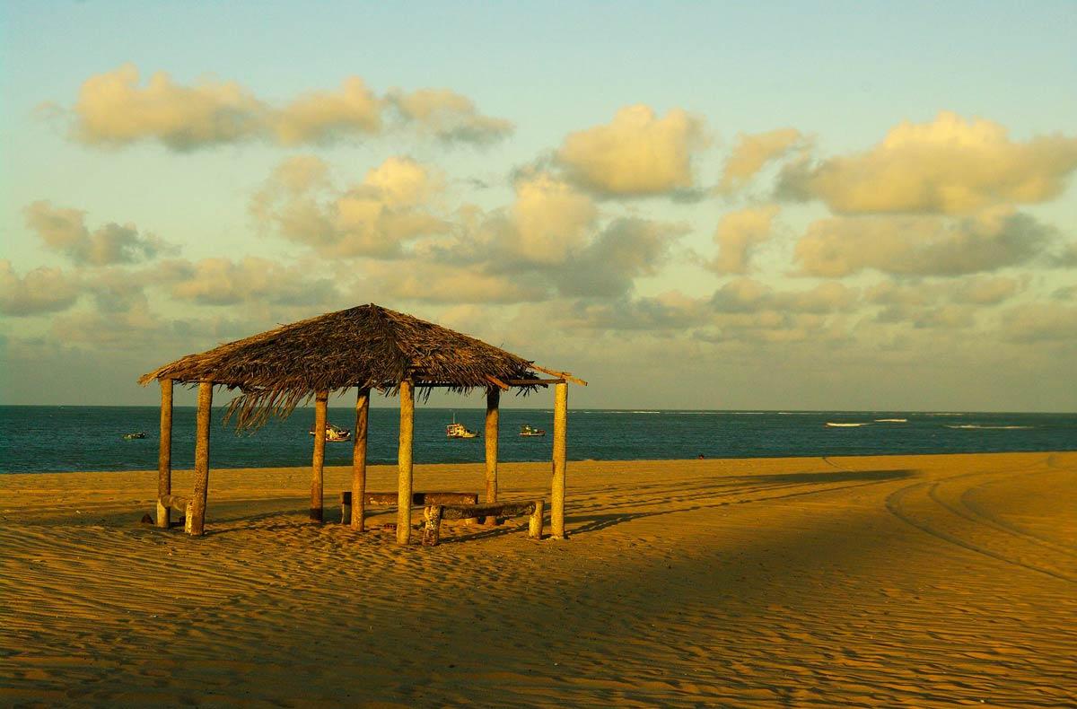 Praia de São Miguel do Gostoso, no Rio Grande do Norte