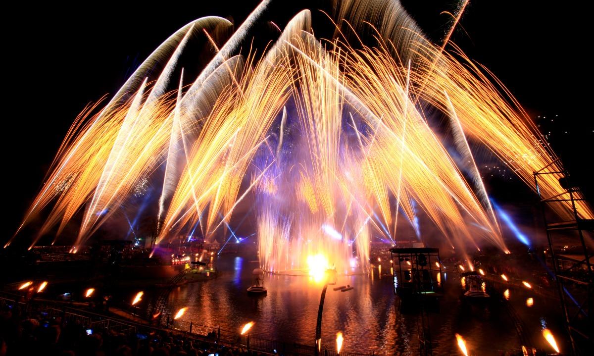 Espetáculo Nativitaten Natal Luz gramado fogos de artifício Foto: Cleiton Thiele