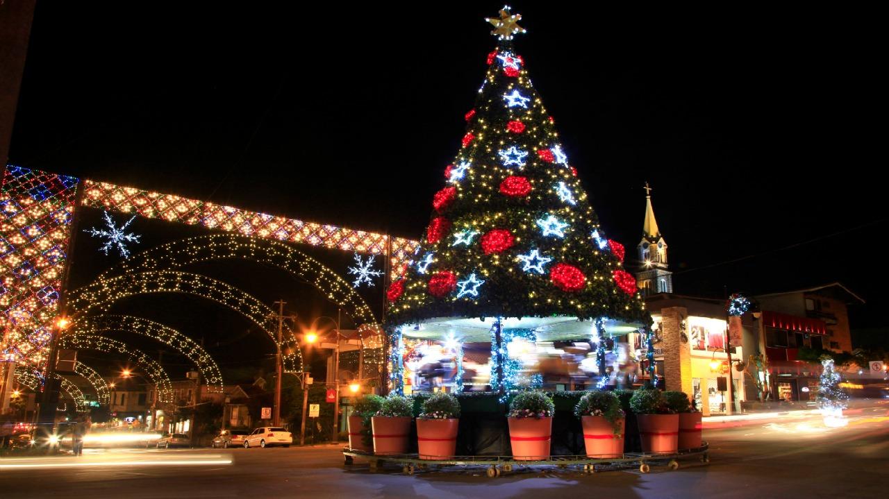 Decoração de Natal no Natal Luz em Gramado