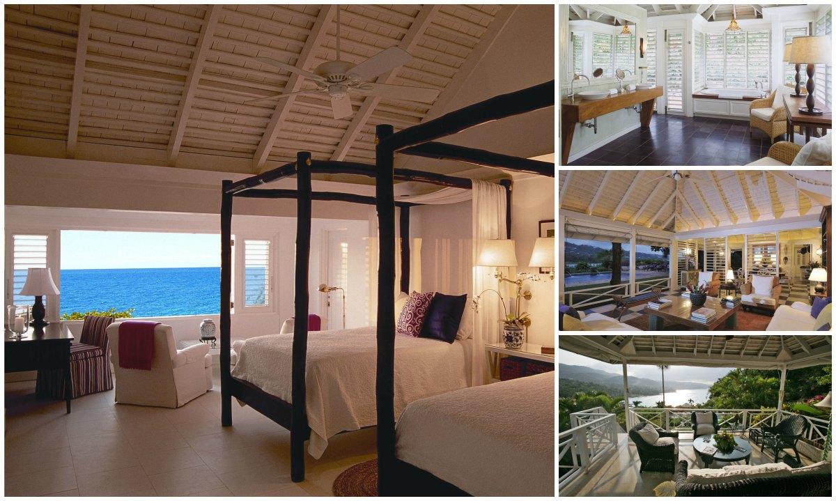 Round Hill Hotel & Villas design