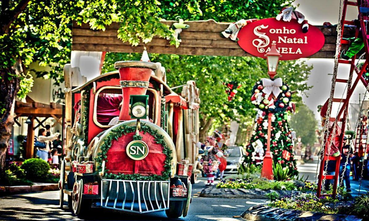 Desfile do Sonho de Natal em Canela. Foto: Sérgio Azevedo, divulgação