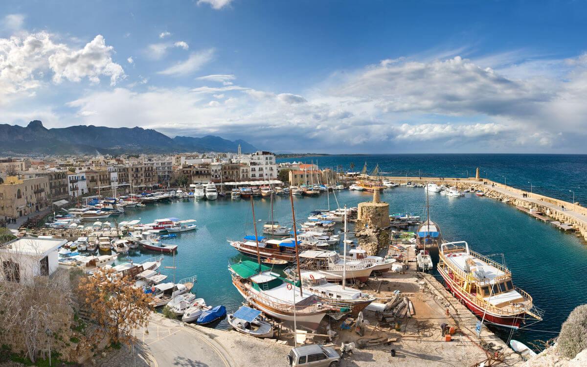 Cypern-kyrenia-havn