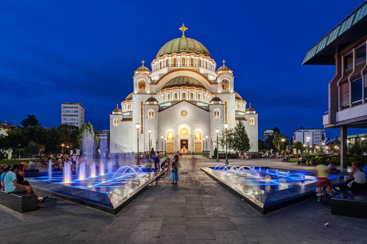 Beograd-Sankt-Savas-Tempel-Serbien