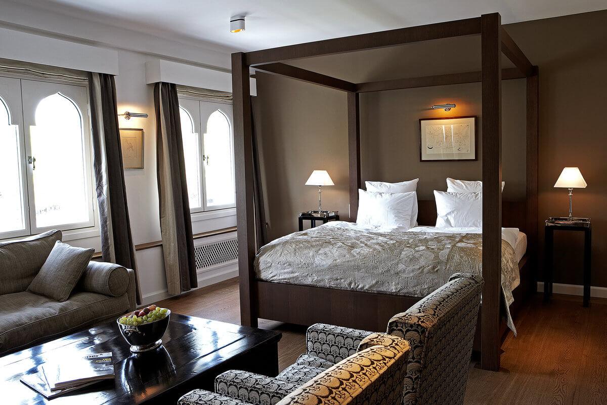 Nimb Hotel Junior Suite seng