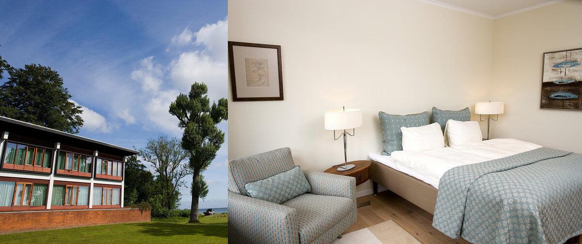 Hesselet hotel og værelse