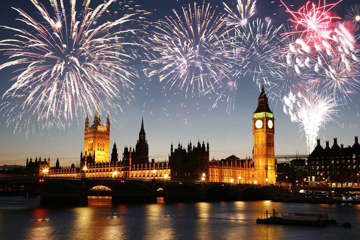 london-nytår-fyrværkeri