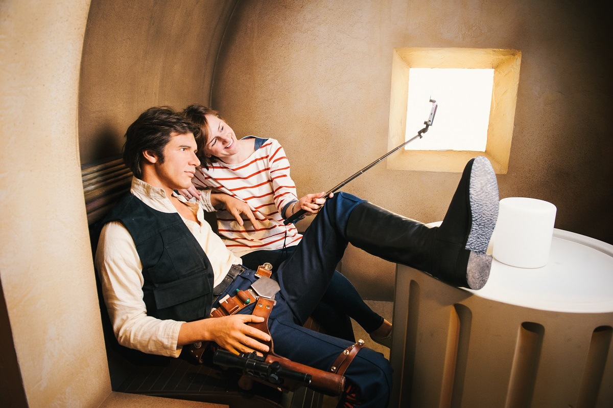Star Wars at Madame Tussauds - In the cantina with Han Solo