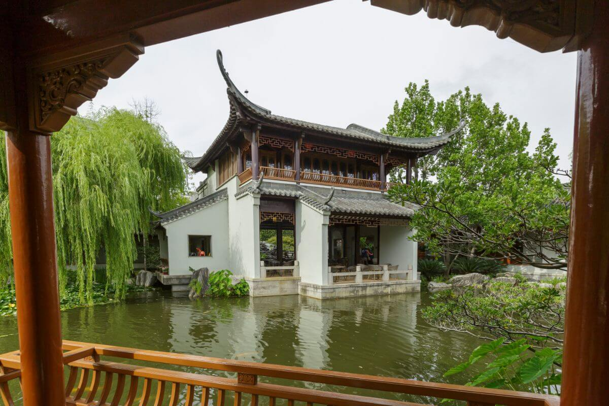 The Chinese Garden of Friendship, Sydney.