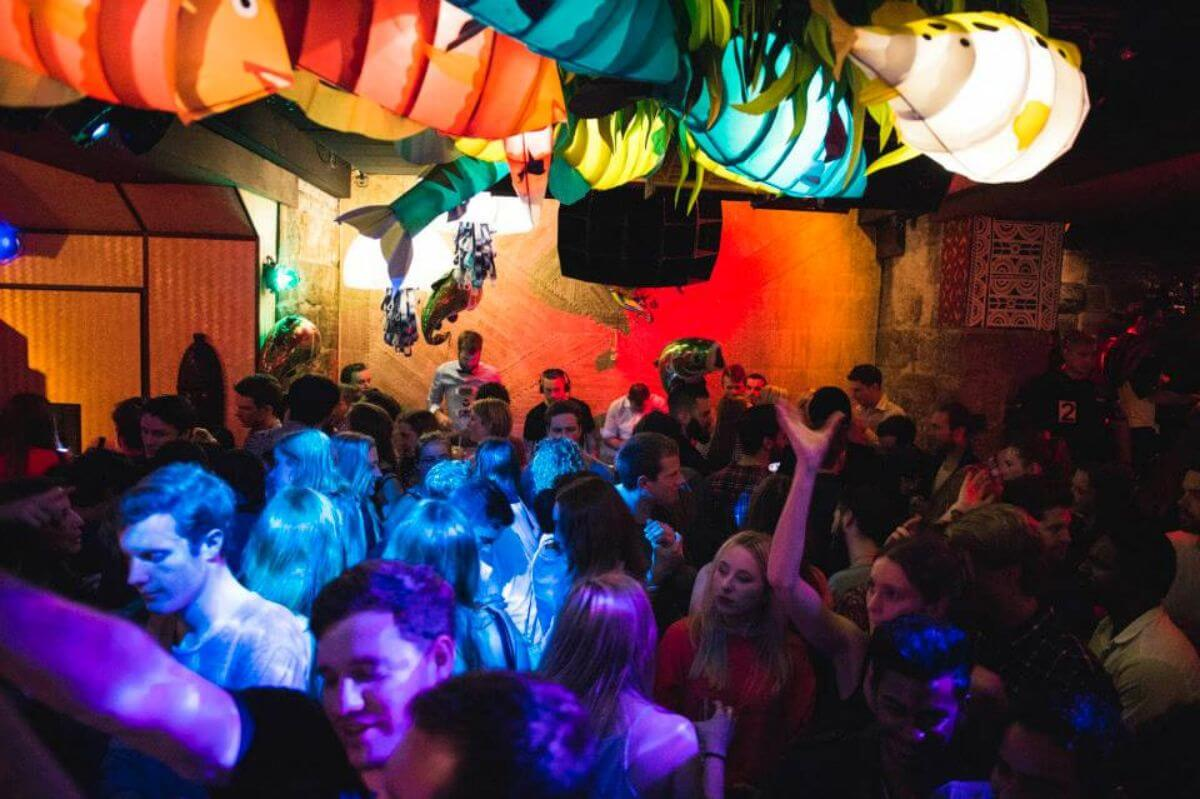The Cliff Dive bar and club, Sydney.