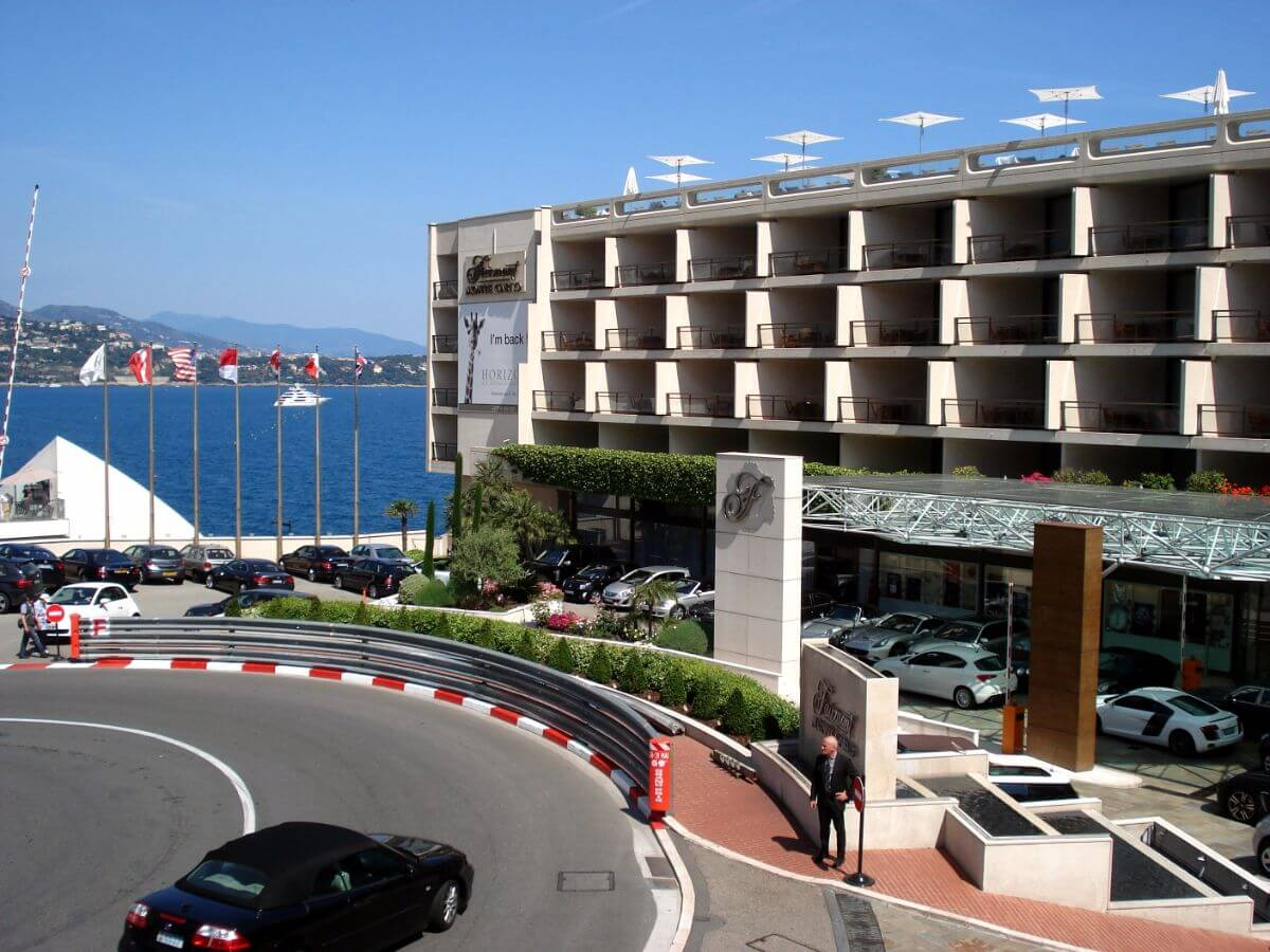 The Fairmont Monte Carlo is great for F1 fans.