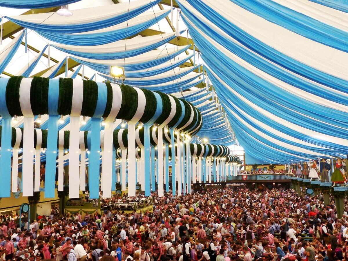 Oktoberfest in Munich, Germany.